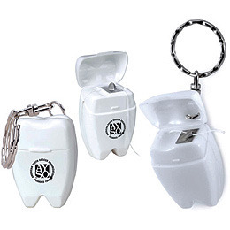 Promotional Product Dental Floss Keychain