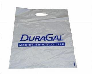 Promotional Product Plastic Show Bag with Die Cut Handles