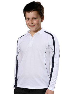 Promotional Product Kids Celebrity Long Sleeve Polo