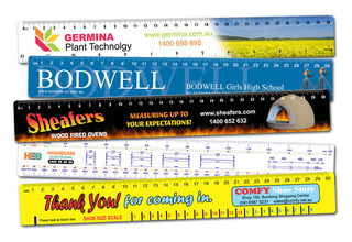 Promotional Product 30cm Ruler with full colour print