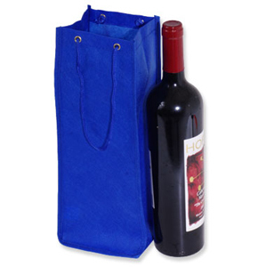 Promotional Product Palm Beach Non Woven Single Bottle Bag