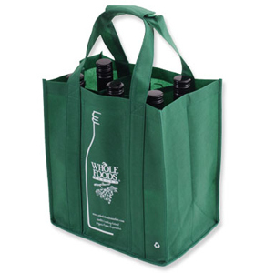 Promotional Product Shelley Non Woven 6 Bottle Bag