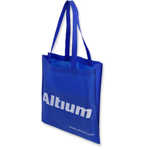 Promotional Product Boomerang Non Woven Tote Bag with Vee Gusset