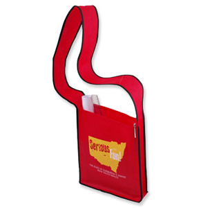 Promotional Product Curl Curl Non Woven Sling Bag