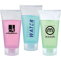 Promotional Product Scented Body Wash in a Small Tube