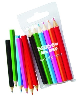 Promotional Product Kids 6 pack Colouring Pencils