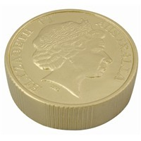 Promotional Product Anti Stress Gold Coin
