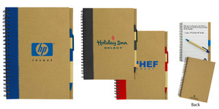 Promotional Product  Recycled Paper Notebook