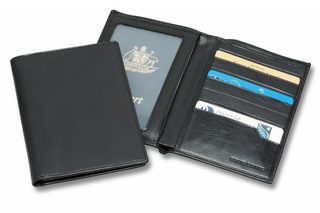 Promotional Product Leather Passport Wallet