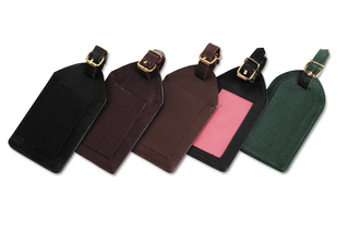 Promotional Product Leather Luggage Tag