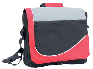 Promotional Product Conference Satchel with  buckle closure