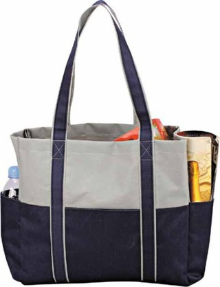 Promotional Product Shopping Bag with 2 side pockets