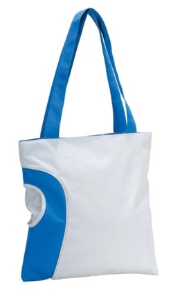 Promotional Product Shopping bag with top zipper