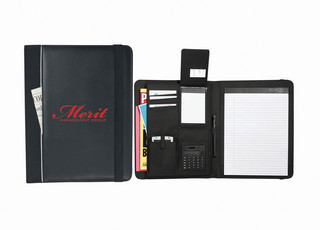 Promotional Product Think Tank Writing Pad and Conference Folder