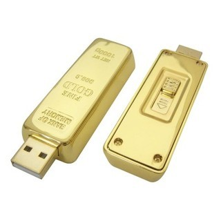 Promotional Product Gold Bar USB Flash Drive