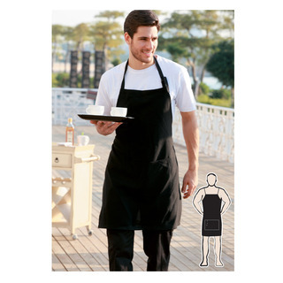 Promotional Product Full Bib with Pocket