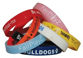 Promotional Product Printed Silicone Wristbands